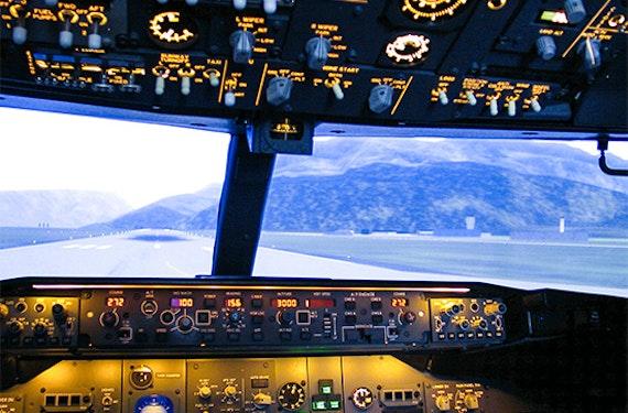 Boeing 737 Profi-Flugsimulator in Mönchengladbach