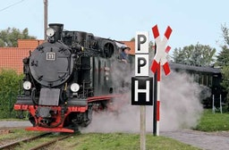 Dampflok selber fahren bei Lutherstadt Eisleben