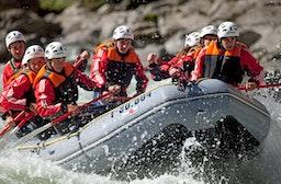 Extrem-Rafting im Ötztal