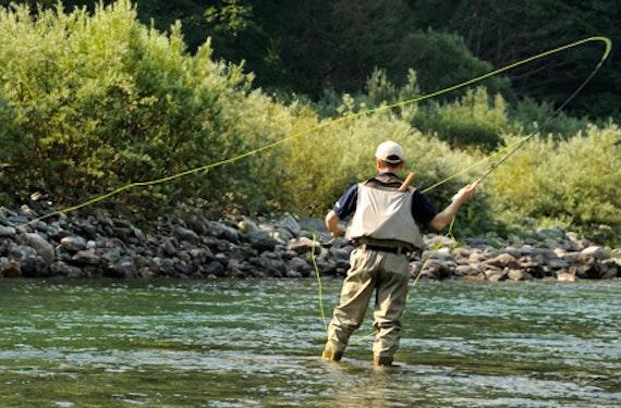 Fliegenfischen im Wettersteingebirge
