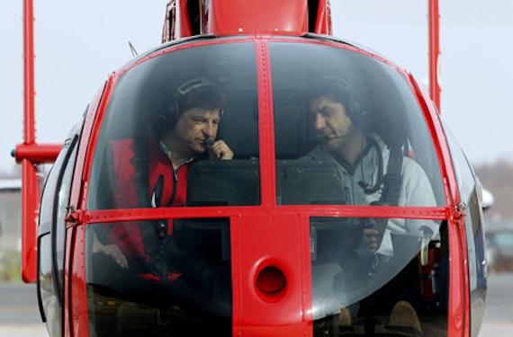 Hubschrauber-Rundflug übers Ruhrgebiet