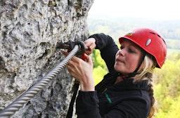 Klettersteig für Einsteiger