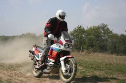 Motorrad Offroad Training
