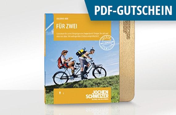 Erlebnis-Box 'Für zwei' als PDF