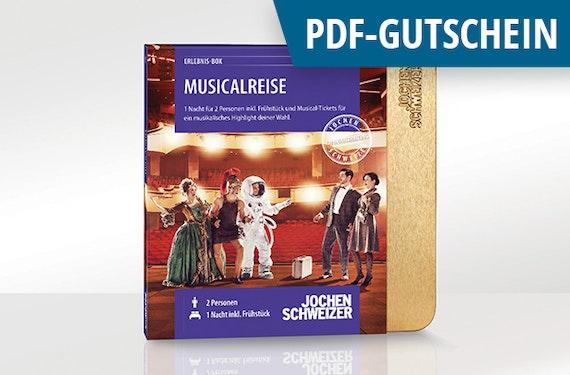 Erlebnis-Box 'Musicalreise für 2' als PDF