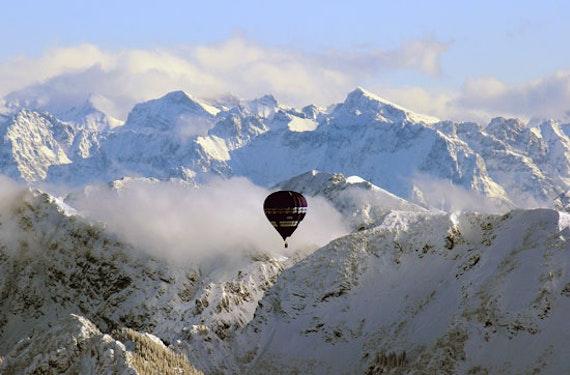 Panorama-Ballonfahrt Raum Innsbruck