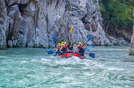 Rafting Tour Entenlochklamm