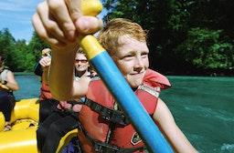 Rafting für Kinder im Ötztal