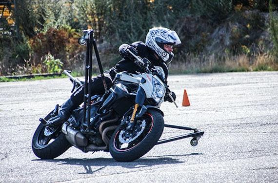 Motorrad Schräglagentraining