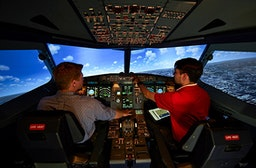 Airbus A320 Flugsimulator in Berlin