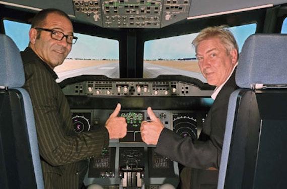A380 Fixed-Base-Flugsimulator