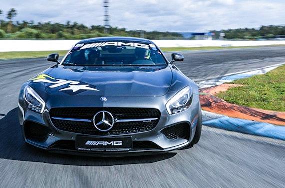 Mercedes AMG GT-S Renntaxi auf der Nordschleife
