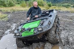 Amphibienfahrzeug Argo 8x8 fahren Raum Graz