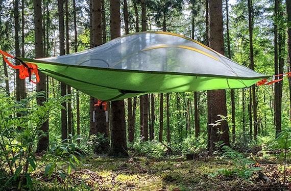 Übernachtung im Baumzelt bei Oldenburg für bis zu 3