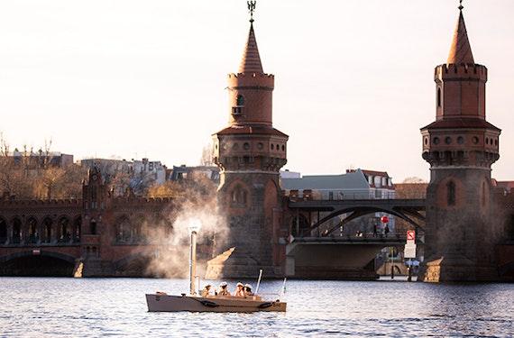 Badedampfer in Berlin für 2