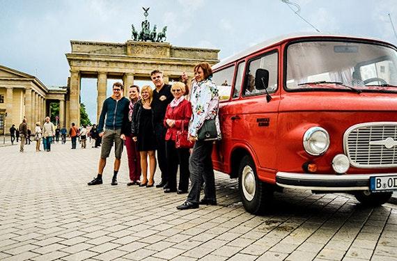 Berlin-Rundfahrt für 2 im DDR-Oldtimer