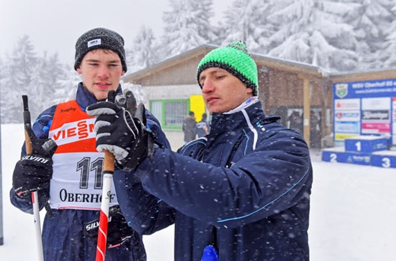 Biathlon-Schießtraining