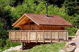 Romantik-Urlaub in der Blockhütte im Schwarzwald für 2