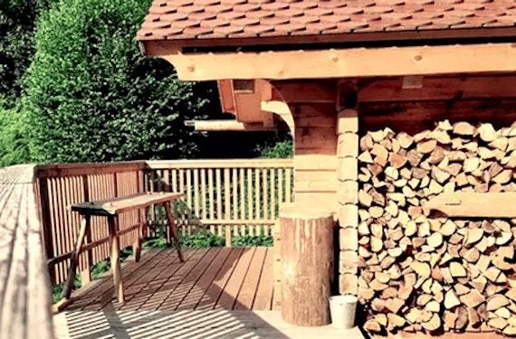 Kuschelnacht in der Blockhütte im Schwarzwald für 2