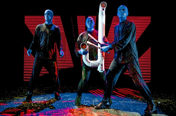 Musical-Reise Berlin mit Blue Man Group für 2 (2 Tage)