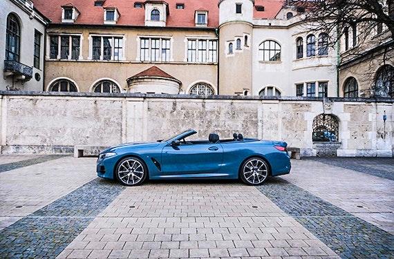 BMW M850i Cabrio mieten (1 Tag)
