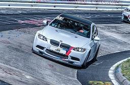 BMW M2 Competition Renntaxi Nordschleife