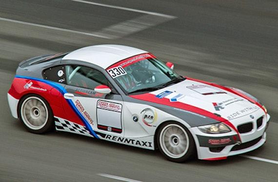 BMW Z4 M Renntaxi auf dem Sachsenring