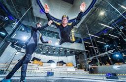 Bodyflying für 2 im Raum Berlin (4 Min.)