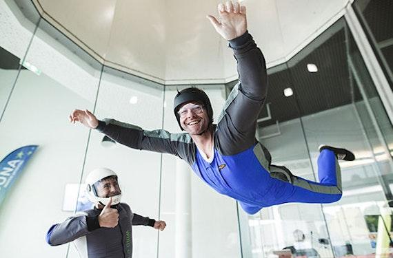 Bodyflying (10 Min.) für bis zu 5 in Berlin