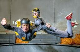Bodyflying (2 Min.) für 2 in Prag