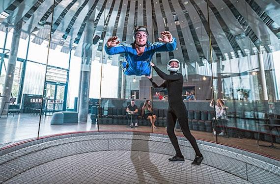 Bodyflying für 2 (je 2 Min.) - Arena München