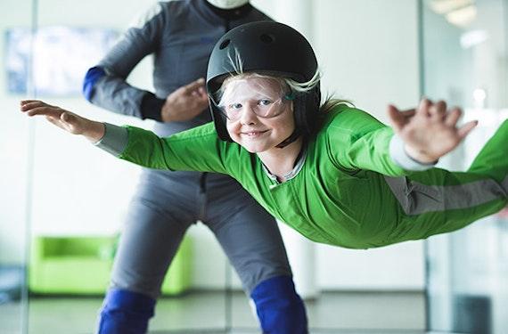 Bodyflying für Kinder (2 Min.) in Wien