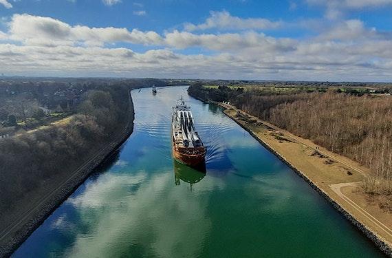 Bootsfahrt Nord-Ostsee-Kanal (2 Std.)