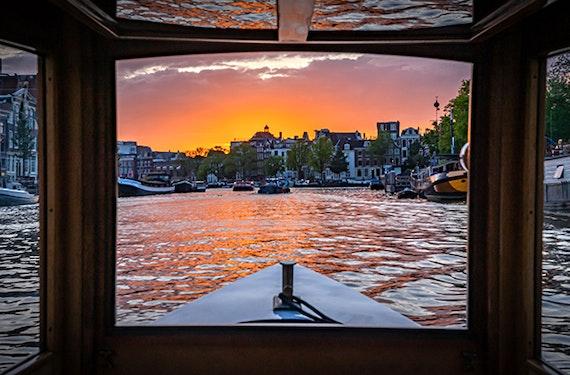 Private Bootstour in Amsterdam für 2 (1 Std.)