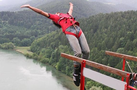 Brücken Bungee in Kärnten