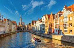 Kurzurlaub Brügge mit Stadtrundfahrt für 2 (3 Tage)
