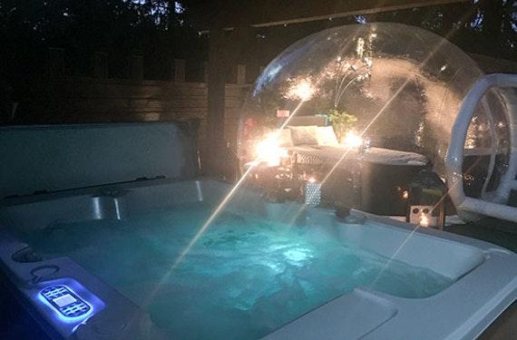 Übernachtung im Bubble-Hotel Raum Gerolstein für 2