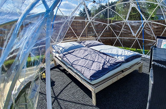 Übernachtung in der Bubble Suite im Fichtelgebirge für 2