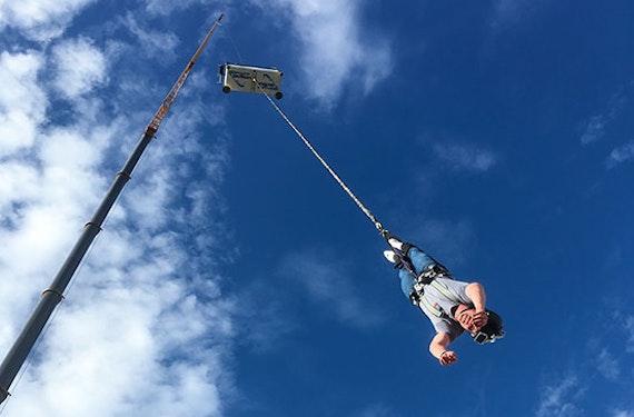 100 Meter Bungee-Jump