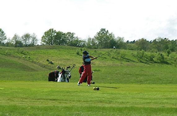 Golf-Urlaub im Burghotel in Brandenburg für 2