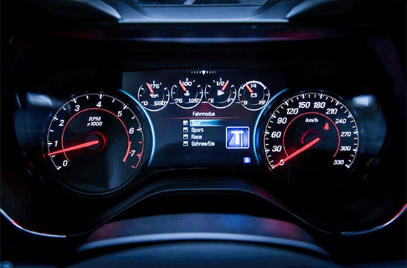 Chevrolet Camaro fahren Raum Graz (1 Tag)