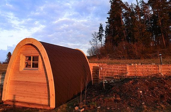 Campingpod Übernachtung in Neuhaus a. d. Eger für 2