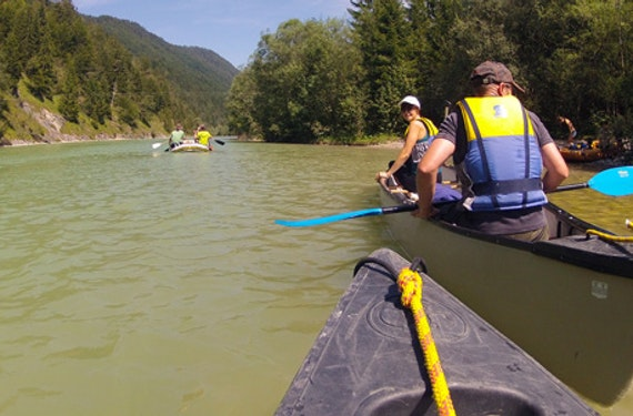 Geführte Kanu-Tour auf dem Neckar