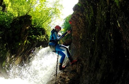 Canyoning für Fortgeschrittene in Interlaken