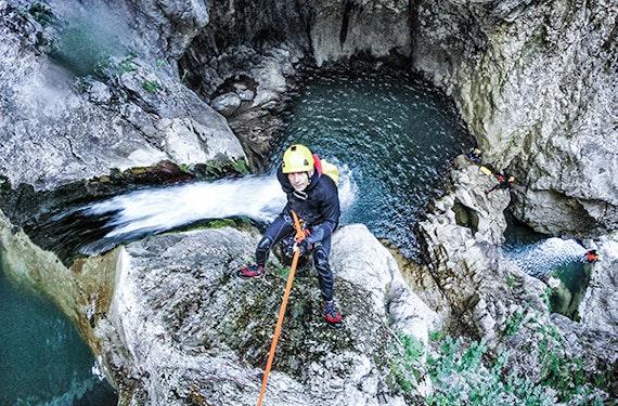 Canyoning in Kiefersfelden