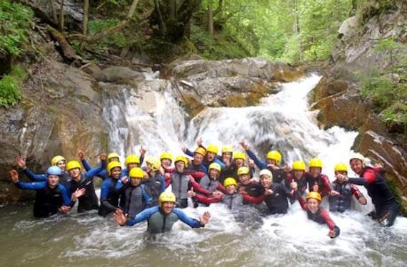 Canyoning für Kinder in Kärnten