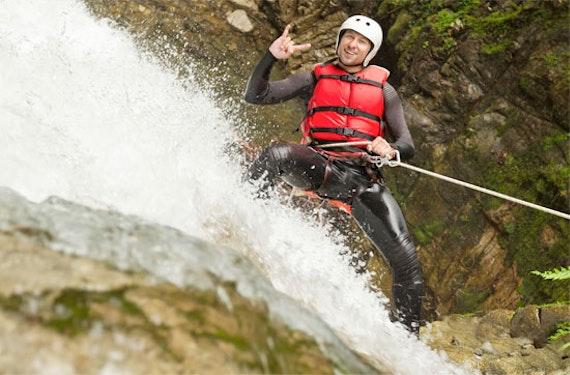 Canyoning in Kroatien