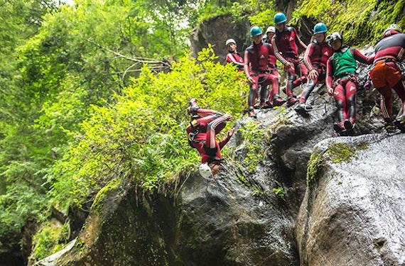 Canyoning für Fortgeschrittene im Ötztal