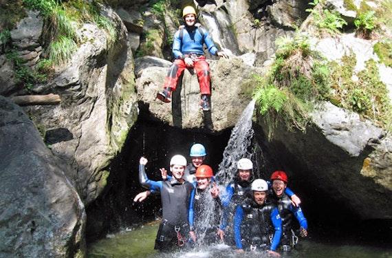 Canyoning für Einsteiger im Ötztal