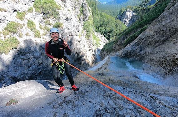 Canyoning Fortgeschrittene Salzburg